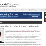 Co-mediation makes for cathartic divorce settlements
