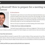 Getting divorced? How to prepare for a meeting with a family lawyer